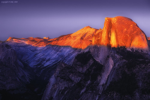 Half Dome California wilderness...