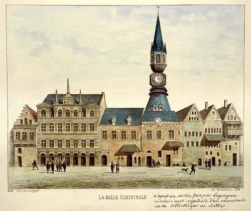 La Halle Échevinale (Lille Ancien Monumental) 1893
