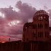 原爆ドーム:A-Bomb Dome at Sunset [Worldheritage]