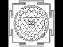 sri chakra - nine triangles nine chakras  (lfdeale) Tags: triangles oregon ancient nine 9 sri balance balancing chakra equinox yantra frequencies solfeggio