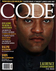 Code Feb 2000 (Todd Wilson) Tags: laurencefishburne codemagazine blackmagazines