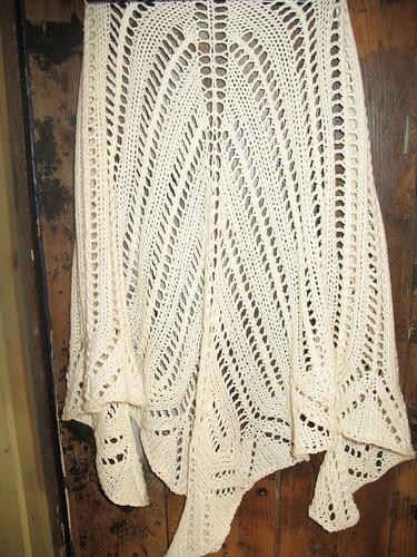 shawl in Lerke, fra Dale