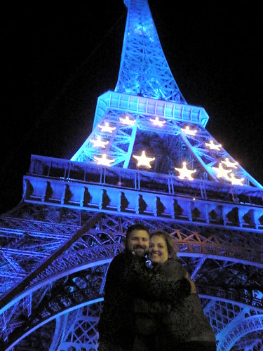Me and Finn under La Tour Eiffel