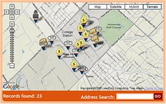 Texas A&M University Crimes Map - Ucrime.com