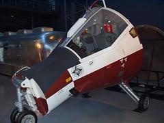 Gemini TTV-1 Paraglider Capsule (Diorama Sky) Tags: museum virginia space capsule nasa prototype paraglider gemini spacecraft chantilly spaceflight smithsonianinstitution nasm nationalairspacemuseum spaceexploration udvarhazycenter nationalaeronauticsandspaceadministration geminiprogram ttv1 dioramasky rogallowing towtestvehicle