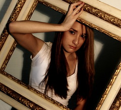 "Day 202 - Falling Into ""Frame"" (Oh Captain - My Caitlin) Tags: portrait sarah model days frame 365 rodriguez seniorportrait threesixtyfive"