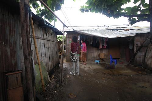 Chiang Mai slum areas