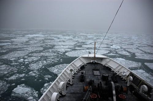 Cutting through the ice