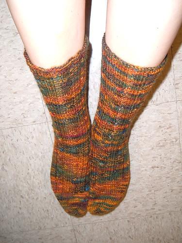 RIb and Cable Socks