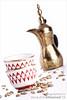 Coffee ?? (abdull) Tags: life red white coffee canon 50mm gold still 14 bleach kuwait arabian xsi abdullah strobist 450d alhamad