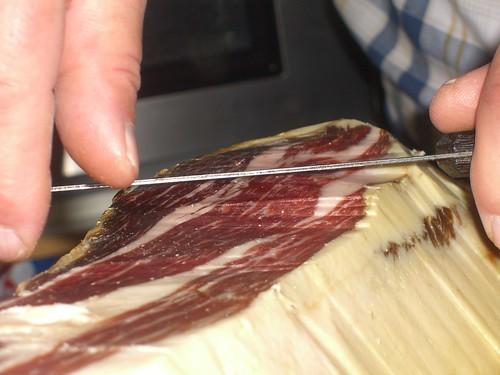 Cutting Jamón