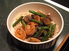chinese stir fry dinner