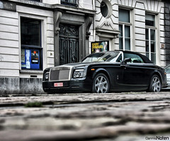 Rolls Royce Phantom Drophead Coupe. (Denniske) Tags: digital canon eos october belgium 10 belgi optical sigma os be antwerp dennis 18 2008 18200 antwerp