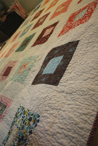 Land & Sea Quilt - Angle