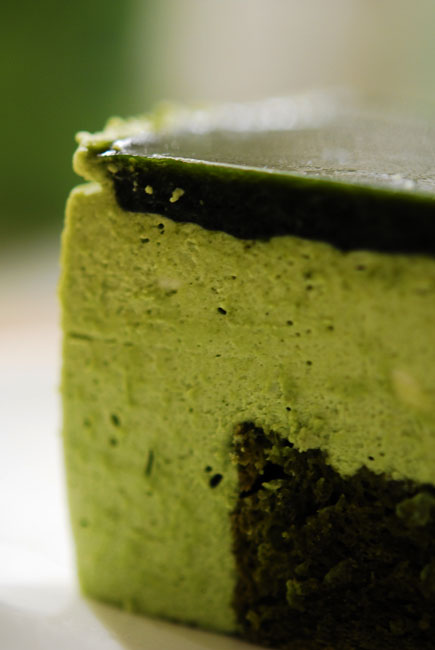 Matcha Cheese cake - DSC_2299