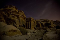 Petra at night (UNHCR) Tags: afghanistan concert italian refugee refugees petra jordan un agency tribute migration 2008 protection unhcr luciano flchtling pavarotti displacement migrants refugiados migrante refugiado migranti rfugi refugie fluechtlinge