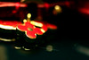 (ًWeda3eah*) Tags: red black flower by gold golden all bokeh ericsson sony lv qatar weda3eah
