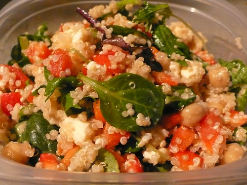 2971218414 e40952c7e6 Quinoa with Chickpeas and Tomato