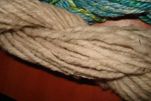handspun fleece