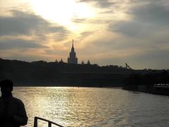 Universiteit Moskou (leondixie) Tags: universiteit moskou tegenlicht