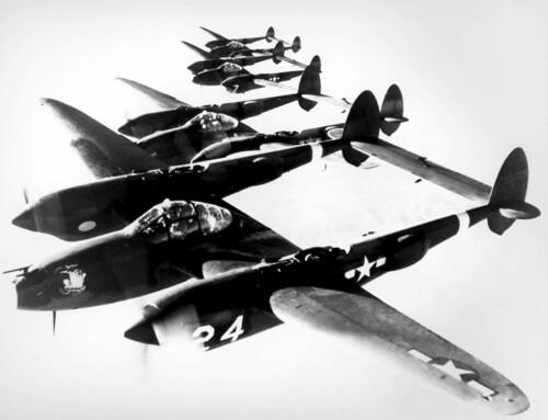 Warbird picture - Lockheed P-38