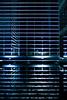 — (janbat) Tags: blue light reflection water lines architecture 35mm nikon eau bleu reflet f2 d200 nikkor nantes lignes cio banque lightofnight jbaudebert
