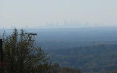 Atlanta autumn skyline (Vicki's Nature) Tags: autumn atlanta lamp colors skyline canon georgia s5 sweatmountain vickisnature fotocity bwcgyoursurroundings cgskyline
