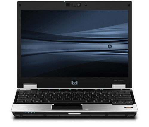 HP EliteBook 2530p Notebook PC Front