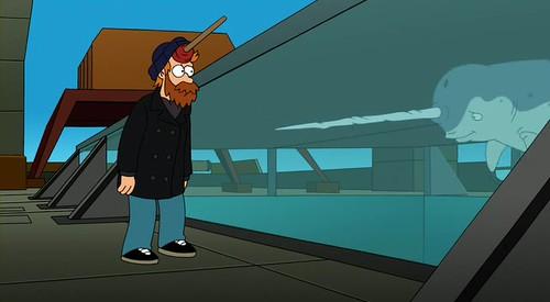Narval Futurama Fry