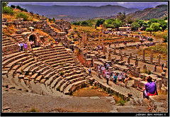 The Roman Odeon (j glenn montano 3) Tags: city turkey concert ancient roman glenn amphitheatre meetings odeon montano senate romans selcuk ephesus anatolia peformance justiniano colourartaward