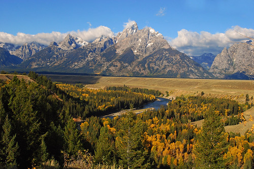 Fall at Snake River Overlook, Grand Teton National Park - 1098b
