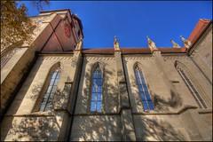 Stiftskirche, Herrenberg, Germany (@richlewis) Tags: church canon germany deutschland eos gimp noiseninja hdr herrenberg stiftskirche photomatix sigma1020mmf456exdchsm sigma1020mmf456 450d