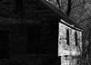 Aldie Mill 1 (egbphoto) Tags: light blackandwhite building brick virginia pentax dcist highfive amateurs aldie abeauty amateurshighfive invitedphotosonly k200d justpentax