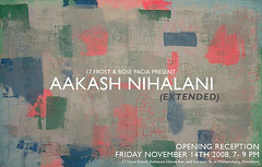 Aakash Nihalani (Opening Part Two)