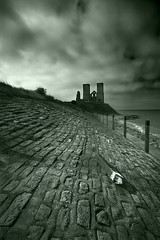 Reculver Towers (Spkennedy3000 - Architectural Photographer) Tags: uk castle kent towers margate innit ramsgate reculver