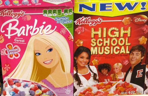 Barbie & High School Musical Cereal