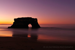 Natural Bridges State Beach Pre-Sunrise - Santa Cruz, California (Jim Patterson Photography) Tags: ocean california statepark longexposure santacruz seascape sunrise landscape coast nikon arch coastal nikkor predawn 1224mm naturalbridges d300 statebeach landscapephotography naturalarch oceanscape seascapephotography jimpattersonphotographycom seatosummitworkshops seatosummitworkshopscom