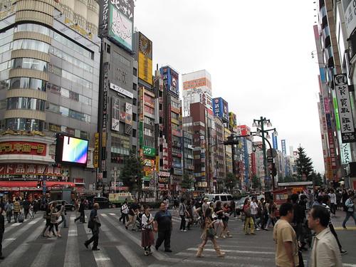 Kabuki-cho facades