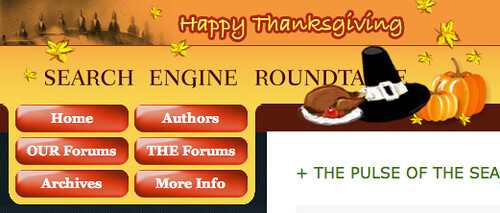 Thanksgiving Theme at SERoundtable.com '08