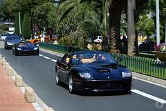 Exclusive combo. Ferrari, Koenigsegg and Mirage GT (Martijn Kapper) Tags: car top ferrari monaco porsche mirage carlo monte gt marques supercar koenigsegg testdrive combo superamerica 575 gemballa ccx excotic