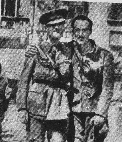 Milans del Bosch se encuentra con su hijo en el Alcázar
