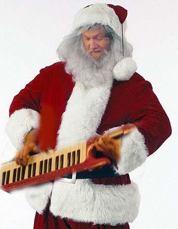 Santa Keytar