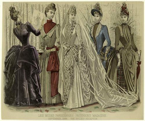 014- Les Modes parisiennes-Recibiendo a la novia 1888