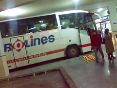 Andenes en la Estación de Autobuses de Murcia 02