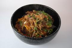 Vegetarian Katsu-don