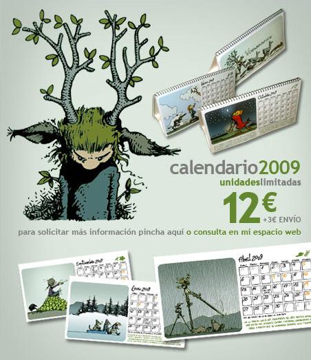 961 Calendario 2009