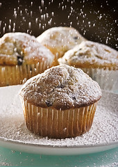 Blueberry Muffins (fhansenphoto) Tags: muffins sugar blueberry powdered