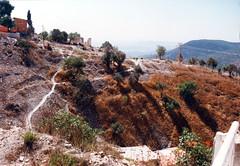 990929_Zefat_04 (emzepe) Tags: mountain israel hill galilee 1999 east mountainside safed middle hillside hegy zefat kirnduls galilea t utazs domb izrael sz szeptember hagalil  hegyoldal galilaea tzfas kzelkelet  isrl domboldal    yisrel kzelkeleti aljall  tzfat afad fath cvt