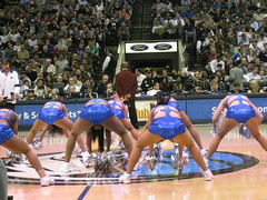 Mavs VS. Trailblazers (Jim Cahill) Tags: basketball portlandtrailblazers dallasmavericks mavsdancers dallasmavericksdancers maverickscheerleaders