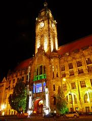 Rathaus Charlottenburg (mr172) Tags: light berlin night licht colours nacht illumination rathaus 2009 festivaloflights bunt charlottenburg projektion festivaloflightsberlin2009